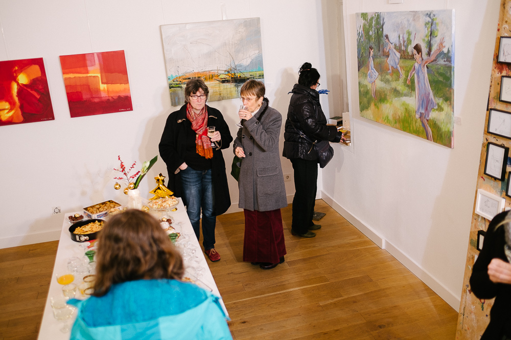 """Vernissage """"Null Gold"""""""